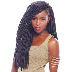 Janet Collection Braids – 2x Havana Mambo Faux Locs 18"