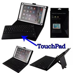 Detachable Wireless Bluetooth Keyboard With Touchpad+PU Leather Case Cover Stand  for Acer Iconia Tab 10 A3-A30