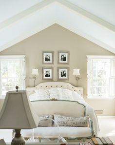 Bedroom colors.
