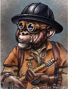 steampunk grease monkey - Google Search