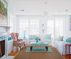 Get inspired to choose a new paint color for your wall and accent colors for furniture with this great gallery of real life living rooms. Choose from neutrals or go vibrant with bold reds and blues.