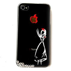 Hand painted snow white iPhone case