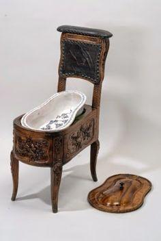 Madame Isis' Toilette: Keeping clean in the century Victorian Furniture, French Furniture, Antique Furniture, Luis Xvi, Bidet, Georgian Era, Antique Items, 18th Century, Delft