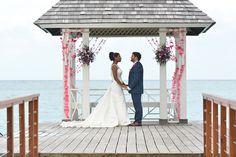 Ocean View Wedding Venue at Sandals Royal Plantation Ocean View Wedding, Destination Wedding Jamaica, Beautiful Wedding Venues, Wedding Honeymoons, Island Weddings, Wedding Album, Marry Me, Unique Weddings, Resorts