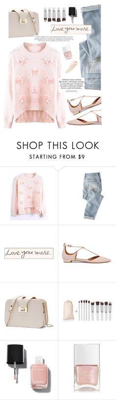 """""""TD"""" by yexyka ❤ liked on Polyvore featuring Wrap, Aquazzura, Chanel, Nails Inc. and NARS Cosmetics"""