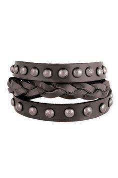 Cu-Ute! Love the jewels! Studded Snap Bracelet 1-13-13