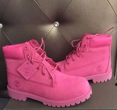 5c8b685998e88 Shop Women's Timberland Pink size 7 Lace Up Boots at a discounted price at  Poshmark. Description: Pink timberlands size Sold by robxn_.