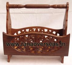Wooden Magazine Rack Wood iron combinationa Magazine racks available in different sizes and shapes. Wooden Magazine racks. We have various designs......