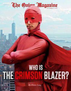 Who Is The Crimson Blazer?