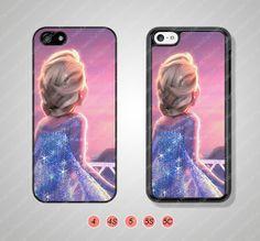 Disney frozen Elsa Phone Cases iPhone 5 Case iPhone 5s por HalloCat, $6.99