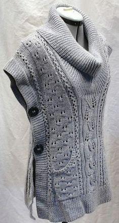 colete de trico