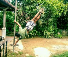 by Muditha Athipola Human Flag, Calisthenics, Outdoor Furniture, Outdoor Decor, Sri Lanka, Training, Work Outs, Excercise, Onderwijs