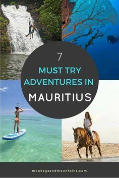 7 Outdoor Adventures in Mauritius That Are On My Bucket List via @