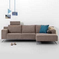 Montèl hoekbank Bisque | bright livingroom