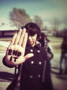 This photo I took of a student while filming a PSA for our Best Buddies club on campus, for our annual Spread the Word to End the Word event. (March, 2012) (iPhone 4). www.r-word.org or clicking on the picture will lead you to the our video.