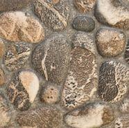 Ceramic Capri beige rocks tile 13x13 ($4.29/square ft) www.tileshop.com