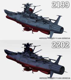 Comparison Sci Fi Anime, Starship Concept, Star Blazers, Space Battles, Spaceship Art, Sci Fi Models, Air Fighter, Sci Fi Ships, Space Pirate