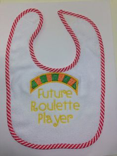 Personalized Embroidery Boy's Bib by SewCutePatches on Etsy
