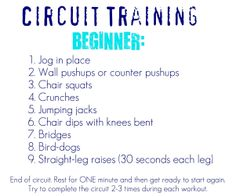 Blissfully Ever After: Circuit Training Workouts~ at Home More