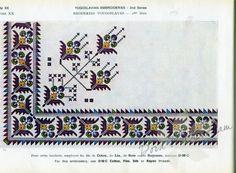 Gallery.ru / Фото #27 - Yugoslavian Embroidery - Dora2012 Cross Stitch Borders, Cross Stitch Patterns, Blackwork Patterns, Prayer Rug, Folk Embroidery, Borders And Frames, Stitch 2, Needlepoint, Bohemian Rug