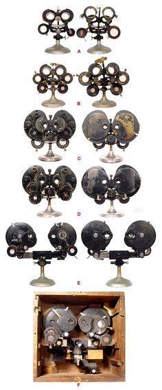 antique optical Phoropters via Radio-Guy