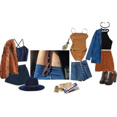 nameless by juliefromthemoon on Polyvore featuring American Eagle Outfitters, Abercrombie & Fitch, ASOS, Eres, River Island, Vanessa Mooney, rag & bone and Satya