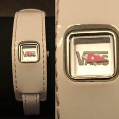 SALE VANS Watch White VANS leather watch. VANS logo printed in watch face. Silver hardware. Vans Accessories Watches