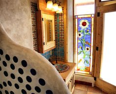 Earthship Stained Glass - Blogs