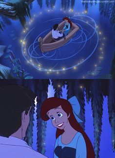Little Mermaid <3 I think every girl wishes for a moment like this :)