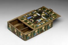 9th c reliquary of the cross