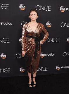 """Actress Ginnifer Goodwin arrives at the """"Once Upon A Time"""" finale screening."""