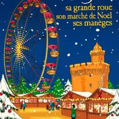 The annual Christmas market along the Quai Vauban will open soon......