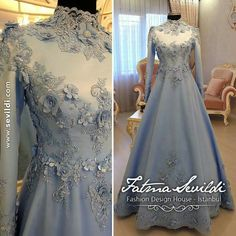 Ideas For Dress Party Elegant Haute Couture Muslimah Wedding Dress, Muslim Wedding Dresses, Muslim Dress, Bridal Dresses, Formal Dresses, Dress Wedding, Hijab Dress Party, Party Gowns, Simple Dresses