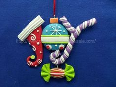 Beautiful selection of Christmas ornaments