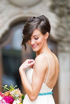 short wedding hairstyle ideas 31 http://coffeespoonslytherin.tumblr.com/post/157380594277/hairstyle-ideas-little-girl-hairstyles-so