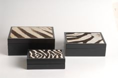 Zebra skin box | Giftware | ASHANTI Decorative Boxes, Africa, Home Decor, Decoration Home, Room Decor, Afro, Interior Decorating