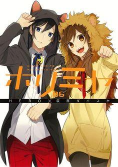 Miyamura Izumi & Hori Kyouko ♡ Horimiya ;3 me gusta la pareja que hacen y la parte masoquista de la chava