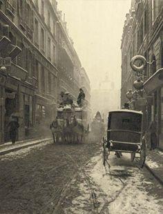 Paris, ca 1904, Photographer Unknown.