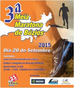 Corridas do MarcusCezar: 3ª Meia Maratona de Búzios