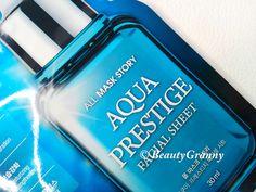 All Mask Story Aqua Prestige Mask отзыв. Купра и полбанки сыворотки. The Prestige, Shampoo, Aqua, Personal Care, Bottle, Beauty, Water, Self Care, Personal Hygiene