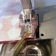 Tweezers to get accurate seam allowance
