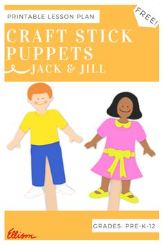 Create easy-to-create craft stick puppets for classroom plays and holiday fun…