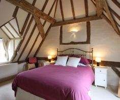 photo of period property brown white bedroom