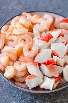 Crab Salad The Effective Pictures We Offer You About paleo Salad Recipe A quality picture … Great Salad Recipes, Sea Food Salad Recipes, Shrimp Salad Recipes, Seafood Salad, Seafood Pasta, Seafood Dishes, Fish Recipes, Seafood Recipes, Cooking Recipes