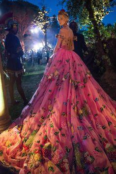 From Dolce & Gabbana Alta Moda Fall 2015