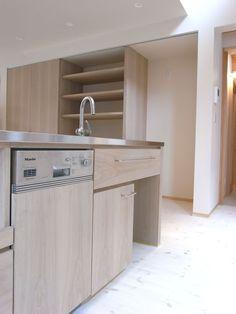 Mieleの食洗機を入れたアイランドキッチン