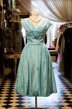 Cabaret Vintage - Ladies Vintage Light Blue Dress, $225.00 (http://www.cabaretvintage.com/vintage-dresses/ladies-vintage-light-blue-dress/) #vintagedress  #vintage #dressvintage #shopping #vintagestore #vintagefashion #ilovevintage #vintagelove #vintagegirl #vintageshopping #vintageclothing #vintagefinds #vintagelover #vintagelook #followme #dressoftheday #ootd #shopitrightnow #brandsamakeherdance #instastyle #torontovintage #toronto #queenwest #cabaretvintage