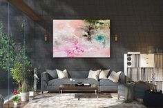 Large Abstract Painting,painting for home,large vertical art,abstract originals,abstract texture art FY0022
