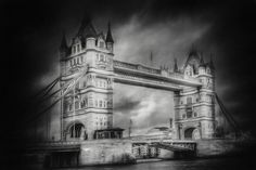 Tower Bridge is a combined bascule and suspension bridge in London, over the River Thames. It has become an iconic symbol of London. Tower Bridge London, Tower Of London, Fine Art Photo, Photo Art, Over The River, Suspension Bridge, River Thames, Unique Photo, Conceptual Art