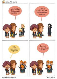 On est tous fans des bouquins et des films Harry Potter, c'est une certitude que vous ne pouvez renier. Mais un gars sûr des familles nommé Alexandre Arlènea imaginé ce que pourrait être le quo